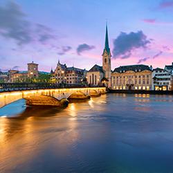ข้อมูลเที่ยวสวิตเซอรแลนด์ :  ซูริค (Zurich)