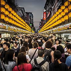 ข้อมูลเที่ยวไต้หวัน : ซื่อหลินไนท์มาร์เก็ต (Shihlin Night Market)