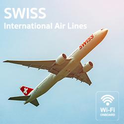 เดินทางสุดชิค กับ SWISS AIR มีบริการอินเตอร์เน็ตไร้สายแล้วจ้า!