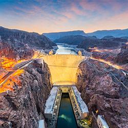 ข้อมูลเที่ยวอเมริกา : เขื่อนยักษ์ฮูเวอร์ (Hoover Dam)