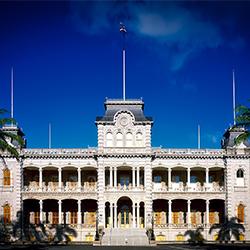 ข้อมูลเที่ยวอเมริกา : พระราชวังอิโอลานี ( Iolani Palace)
