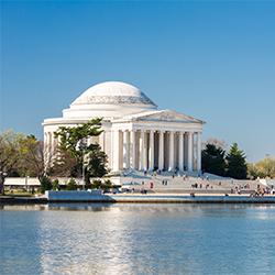ข้อมูลเที่ยวอเมริกา : อนุสาวรีย์ โธมัส เจฟเฟอร์สัน (Thomas Jefferson Memorial)