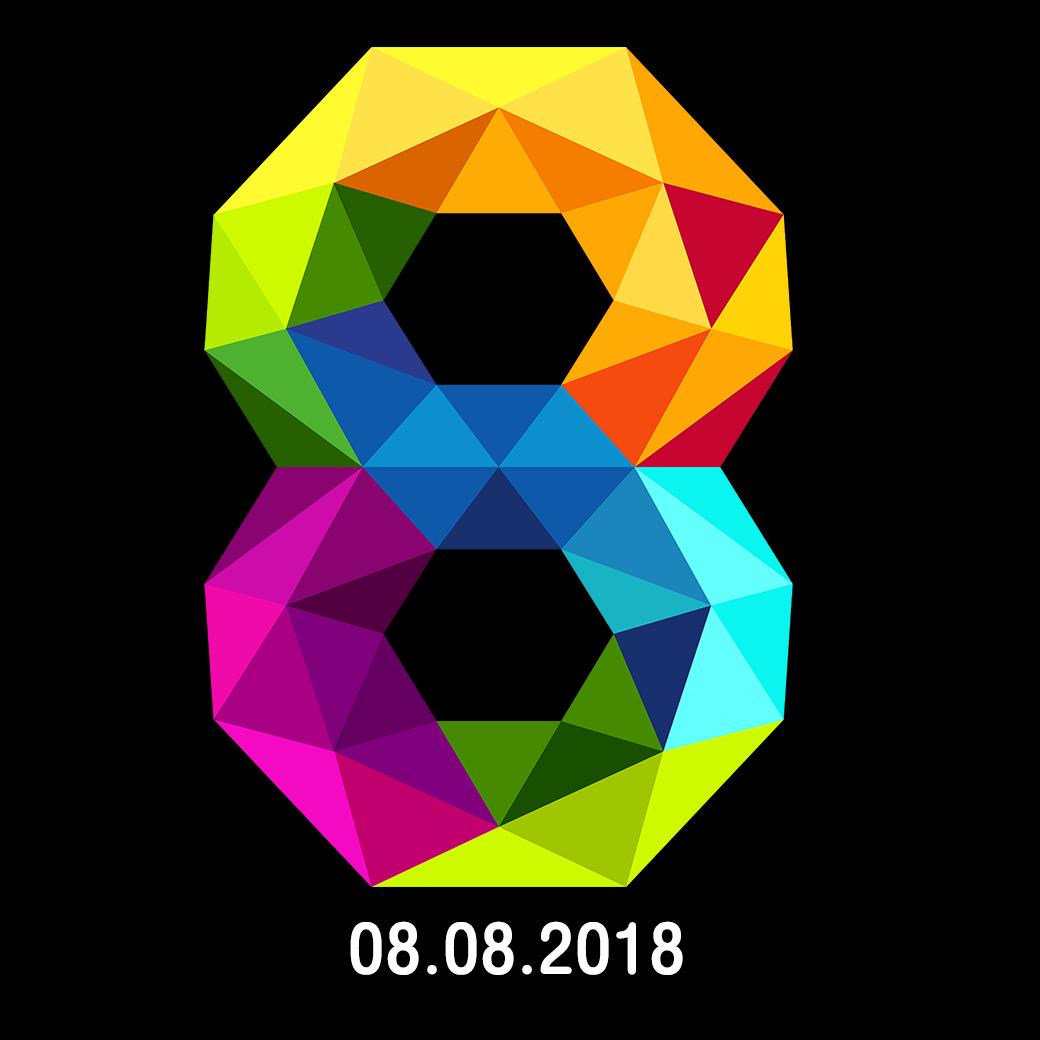 8 , วันมหาโชค , 8 เดือน 8 , 08.08.2018 , Lucky Day