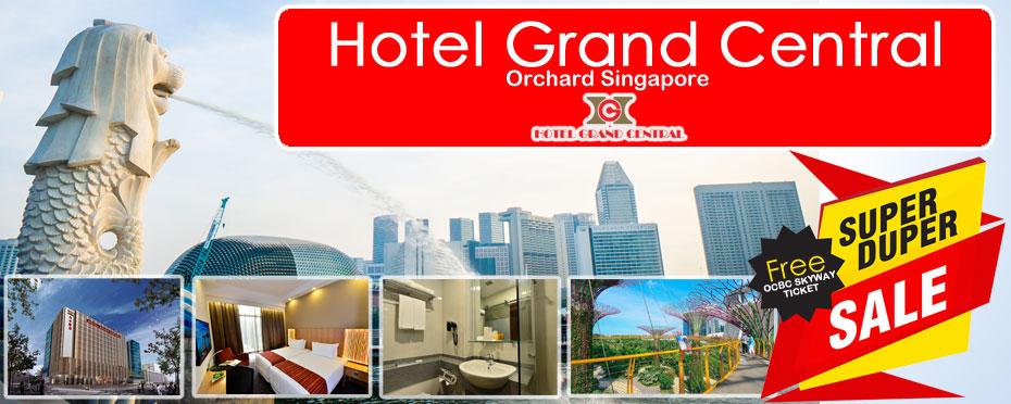 โปรโมชั่น โรงแรม Hotel Grand Central Orchard Singapore