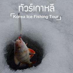 ทัวร์เกาหลี ตกปลาน้ำแข็ง