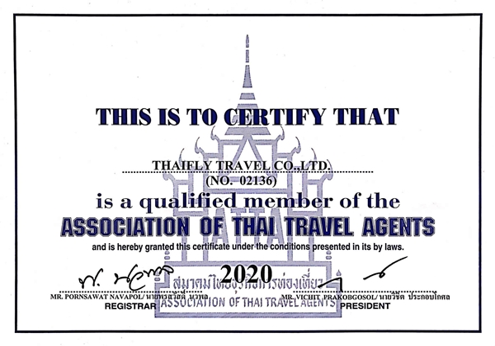 ATTA,Association Of Thai Travel Agents,สมาคมไทยธุรกิจการท่องเที่ยว,Thaifly