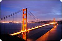 จัดทัวร์อเมริกา : สะพานแขวนโกลเด้นเกท