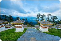 จัดกรุ๊ปทัวร์ภูฏาน : โดชูลา พาส