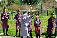 จัดกรุ๊ปทัวร์ภูฏาน : ยิงธนู กีฬาประจำชาติ
