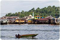 จัดกรุ๊ปทัวร์บรูไน : หมู่บ้านกลางน้ำกัมปง