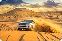 จัดกรุ๊ปทัวร์ดูไบ : ขับรถจี๊บซาฟารีลุยทะเลทราย