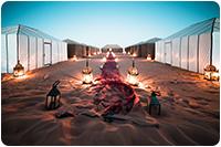 จัดกรุ๊ปทัวร์อียิปต์ : ตั้งแคมป์นอนดูดาวกลางทะเลทราย