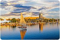 จัดกรุ๊ปทัวร์อียิปต์ : กิจกรรมล่องเรือแม่น้ำไนล์