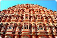 จัดทัวร์อินเดีย : พระราชวังสายลม