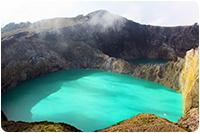 จัดทัวร์อินโดนีเซีย : ทะเลสาบเคลิมูตู