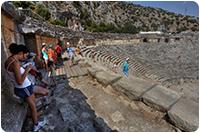 จัดกรุ๊ปทัวร์ตุรกี : โรงละครกลางแจ้งโบราณ