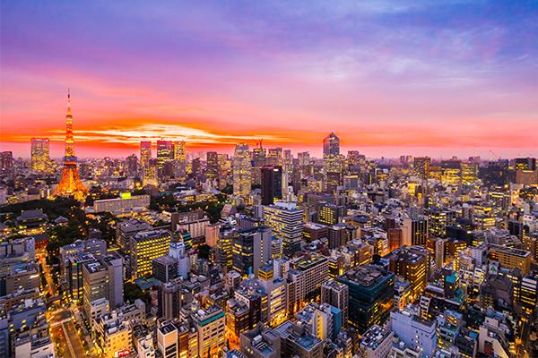 18 ภาพถ่ายจากประเทศญี่ปุ่นสวยๆ ที่คุณอาจไม่เคยเห็น,โตเกียวมุมสูงยามค่ำคืน,โตเกียว,มุมสูงยามค่ำคืน